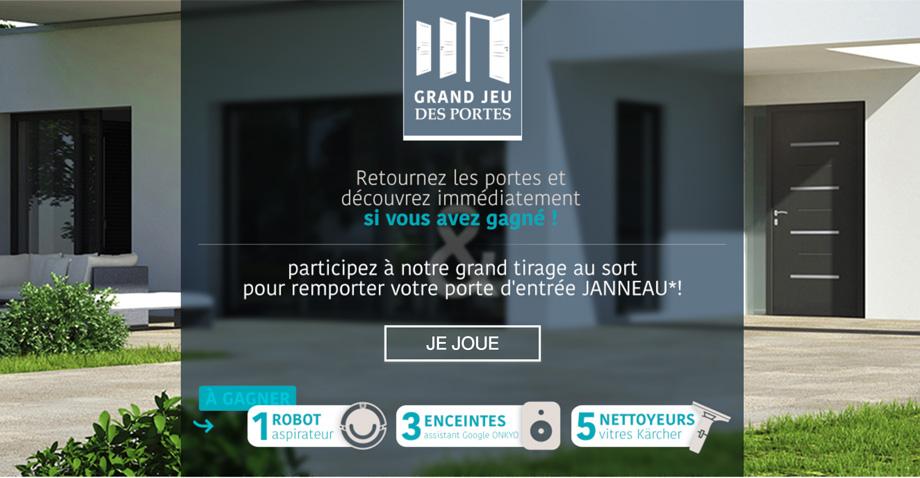 Grand jeu – Portes d'entrée Janneau Menuiserie
